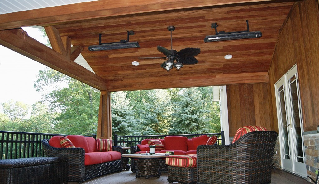 This Amazing Deck Covered Structure And Paver Patio