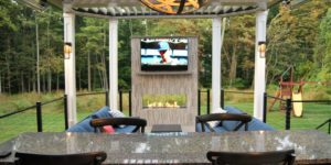 DeckRemodelers.com Outdoor Fire Place